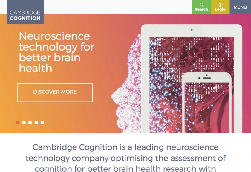 Click to visit Cambridge Cognition