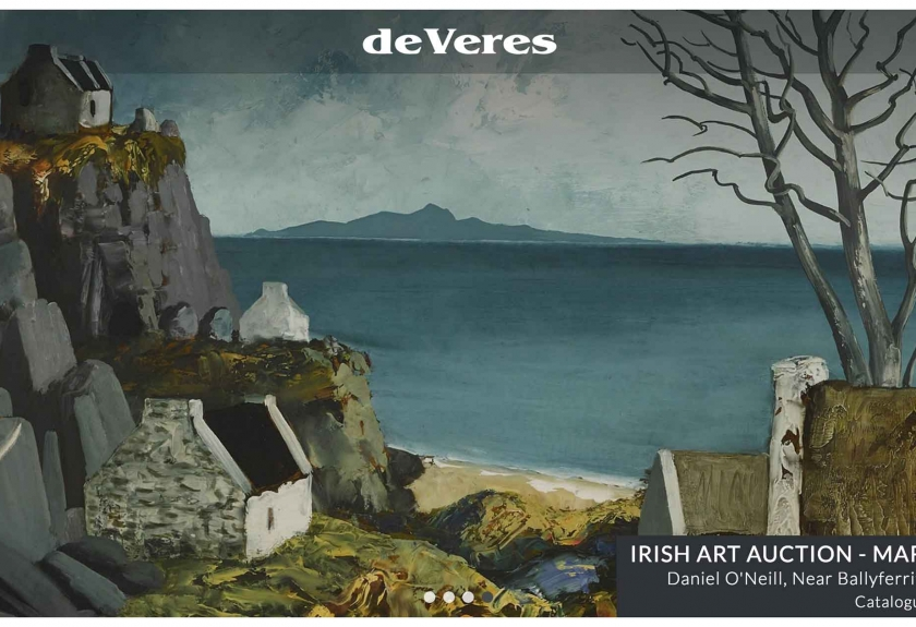 Click to visit de Veres Irish Art Auctions