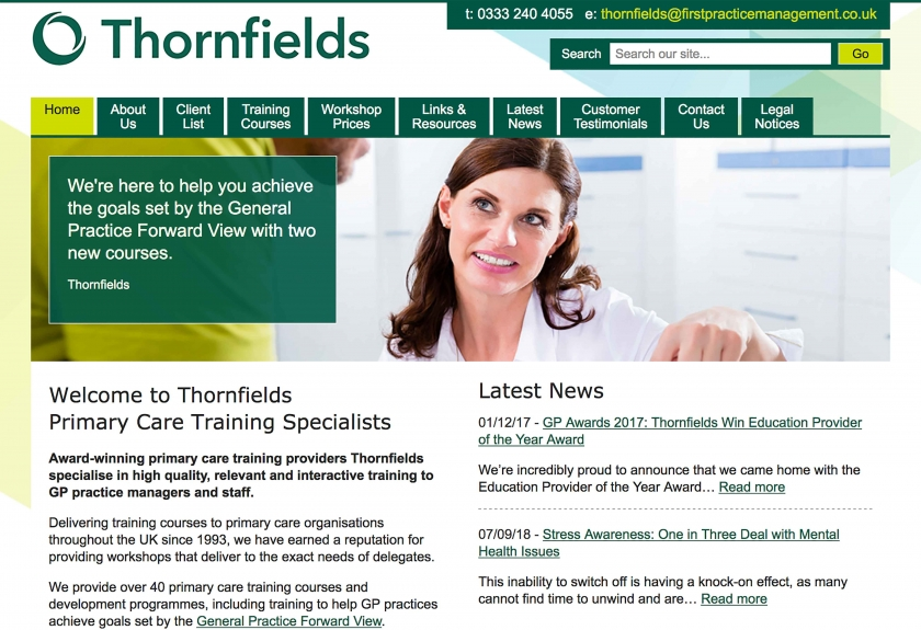 Click to visit Thornfields@FPM